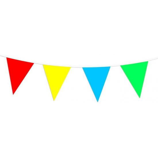 Image of Vlaggenlijn gekleurd 30 meter