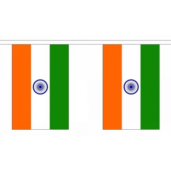 Vlaggenlijn india 9 m