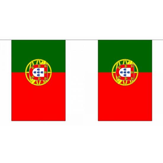 Vlaggenlijn Portugal 9 m