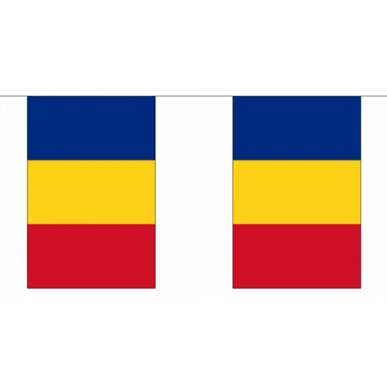 Vlaggenlijn Roemenie 9 m