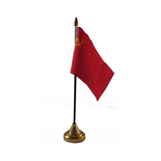 Image of Vlaggetje voor op tafel Sovjet Unie