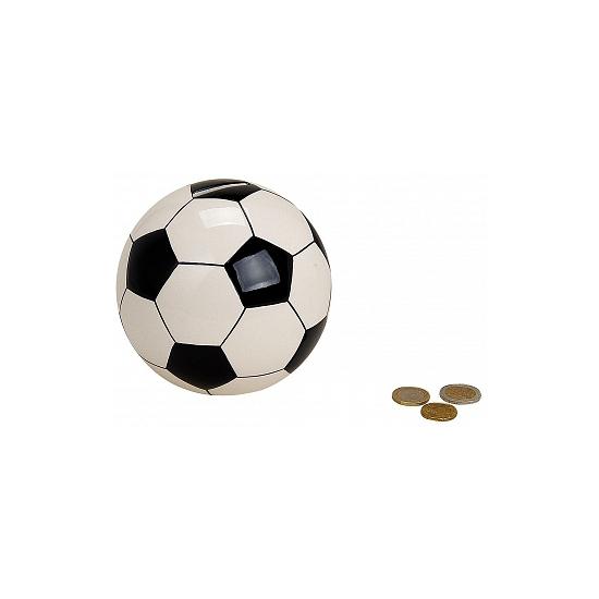 Voetbal spaarpot 13 cm