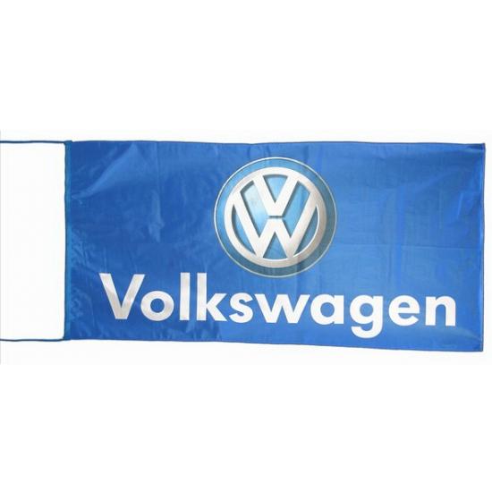 Image of Volkswagen vlag blauw 150 x 75 cm