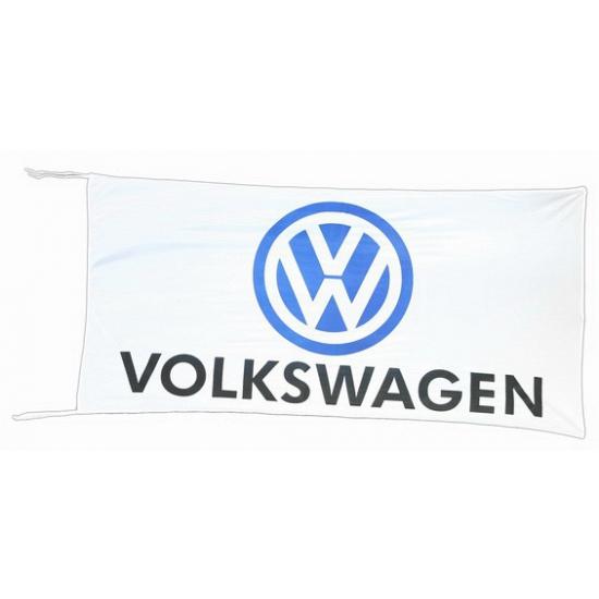 Image of Volkswagen vlag wit 150 x 75 cm