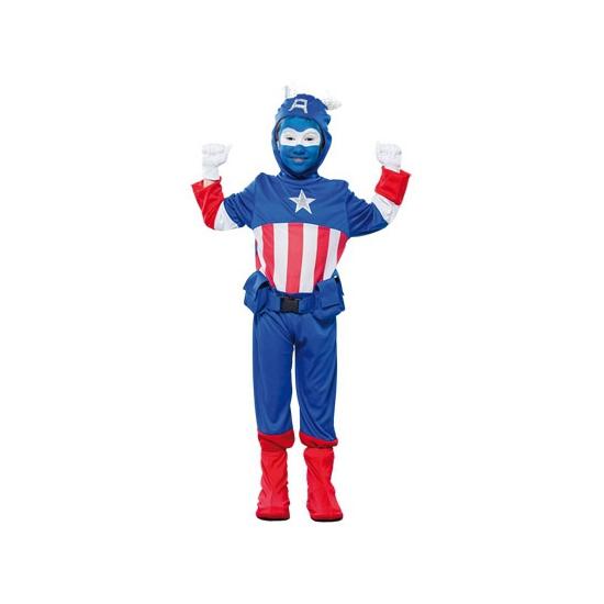Image of Voordelig superheld kapitein kostuum voor jongens