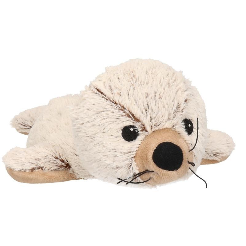 Image of Warmte knuffel zeehond met kruidengeur