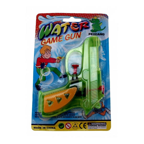Image of Waterpistool gekleurd 13 cm