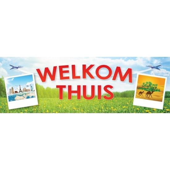 Image of Welkom thuis sticker