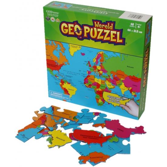 Image of Wereld puzzel voor kinderen