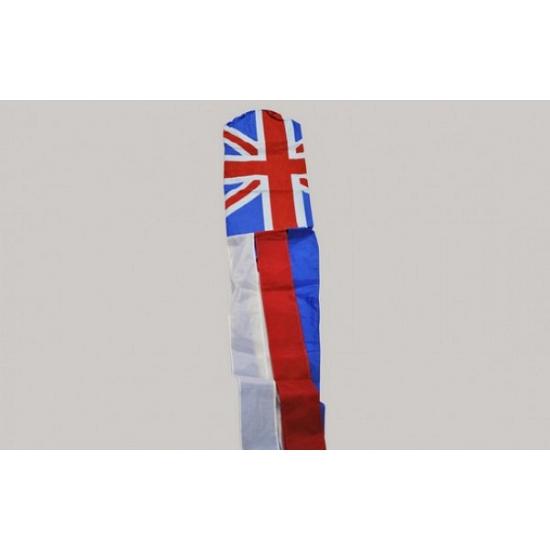 Image of Windsok met Engelse vlag print