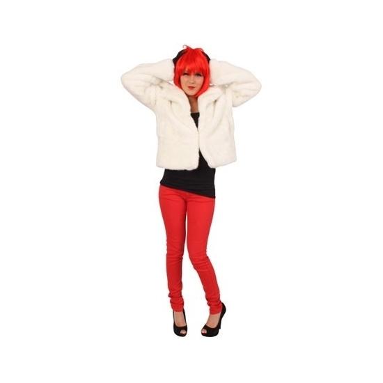 Image of Witte bontjassen voor dames