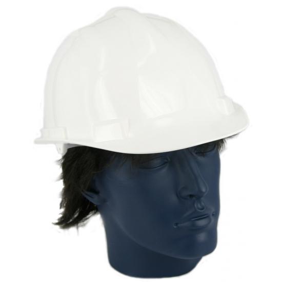 Image of Witte bouwvakkershelm