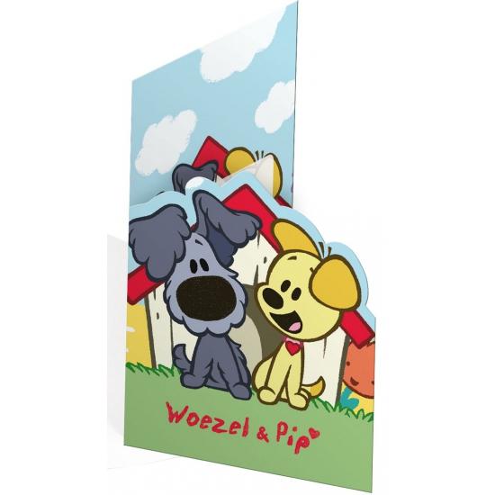 Image of Woezel en Pip uitnodigingen 8 stuks