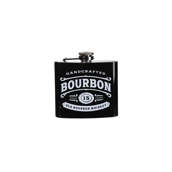 Image of Zakflacon bourbon rvs zwart