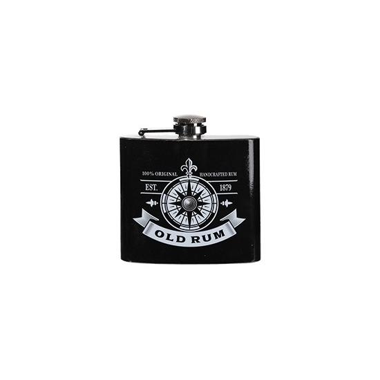 Image of Zakflacon rum rvs zwart