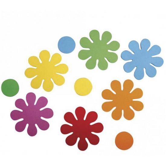 Image of Zelfklevende crepla bloemen 40 stuks