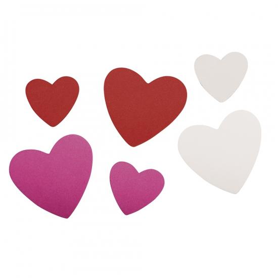 Image of Zelfklevende crepla hartjes 100 st