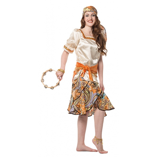 Image of Zigeunerin verkleed kleding