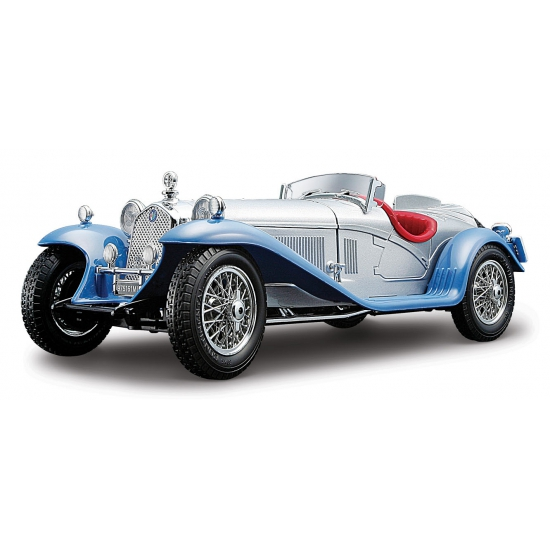 Image of Zilveren Alfa Romeo 8C 2300 Spider 22 cm