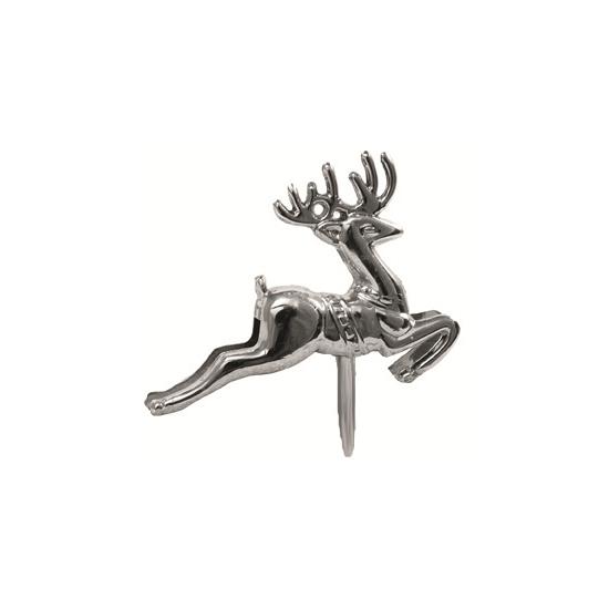 Image of Zilveren rendieren op stekers