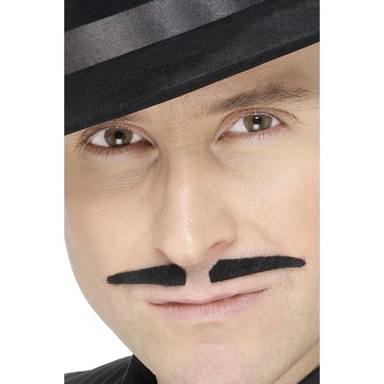 Image of Zwart gangster snorretje