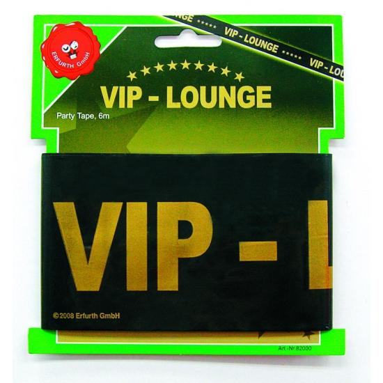 Zwart markeerlint met VIP lounge