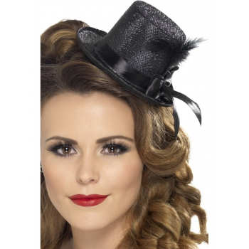 Image of Zwarte hoge hoeden voor dames