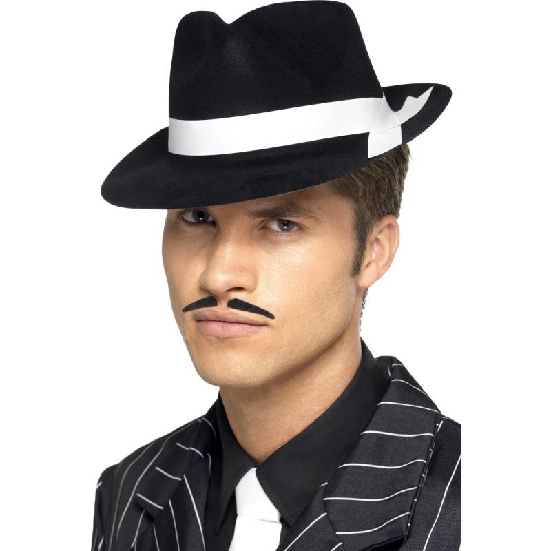 Image of Zwarte maffia hoeden