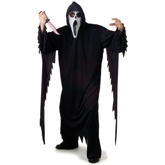 Image of Zwarte Scream verkleedkleding