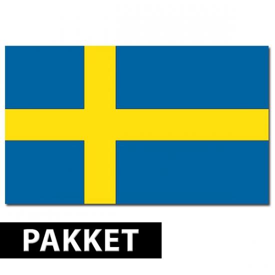 Zweden feestartikelen pakket