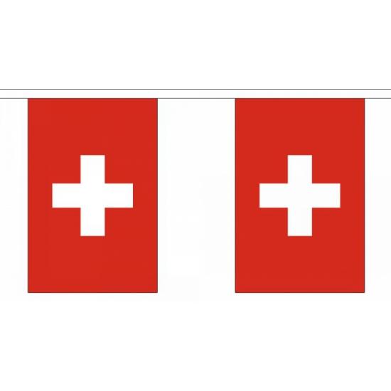 Zwitserland vlaggenlijn 9 meter
