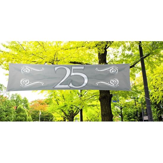 25 jaar jubileum decoratie banner