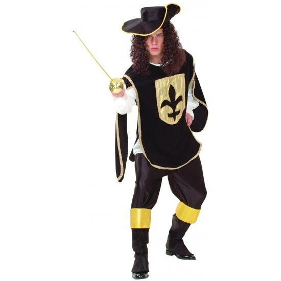 Carnavalskostuum Musketiers kostuums heren