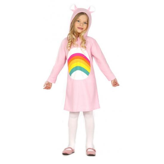 Foto van Carnavalskostuum roze beertje