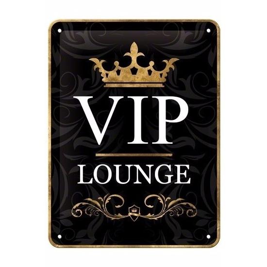 Casino thema Muurdecoratie VIP Lounge 15 x 20 cm