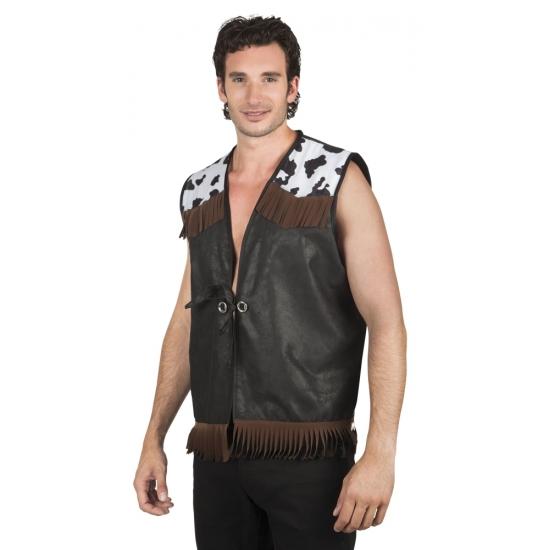 Cowboy vest zwart