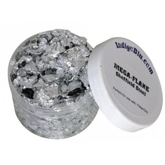 Decoratiefolie zilveren steentjes