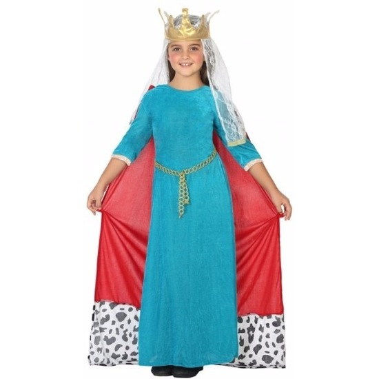 Feest koninginnen kostuum voor meisjes