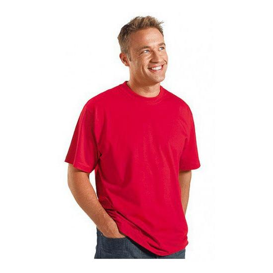 Foto van Grote maten t-shirt rood 3XL van Logostar