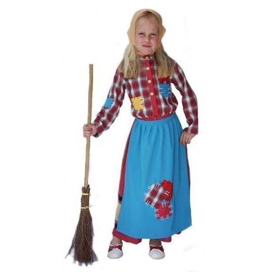 00878e7ef7310c Heksen outift voor meisjes in oranje artikelen winkel Oranjeshopper