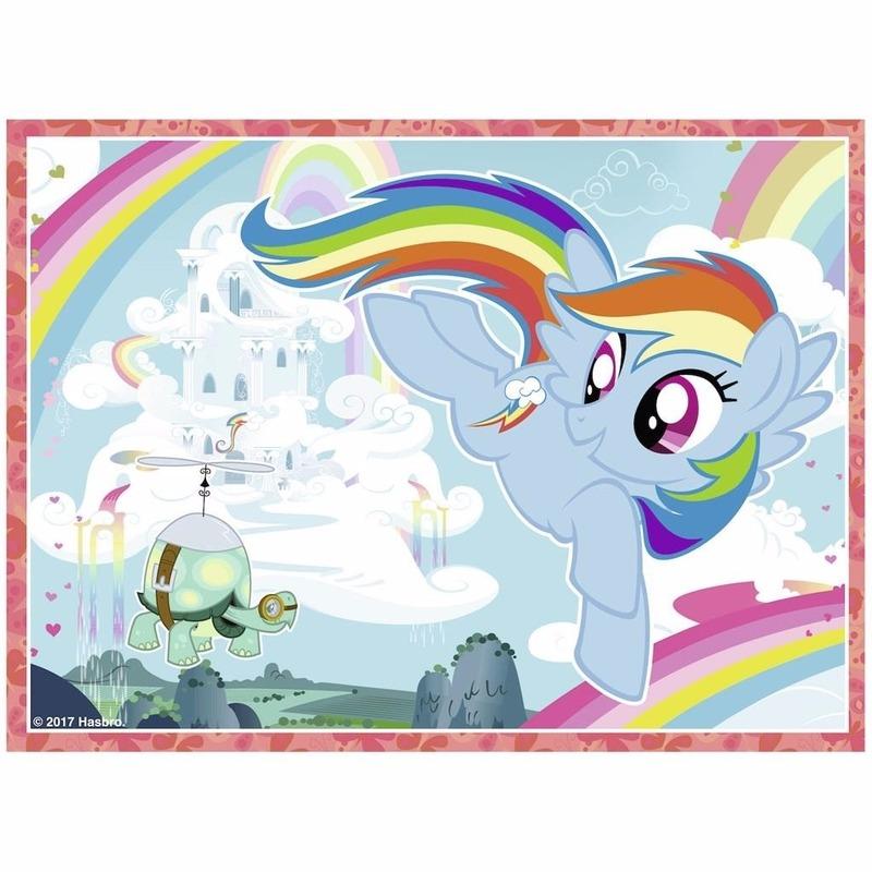 My Little Pony Puzzel 4 In 1 In Oranje Artikelen Winkel Oranjeshopper