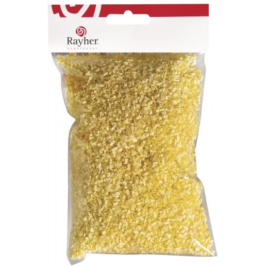 Pasen versiering geel gras 50 gram