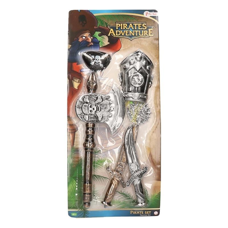 Piraten accessoires carnavalsetje voor kinderen