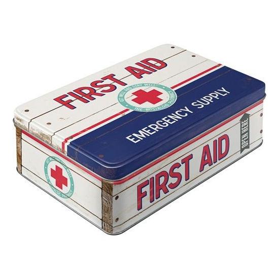 Potloden doos/box First Aid