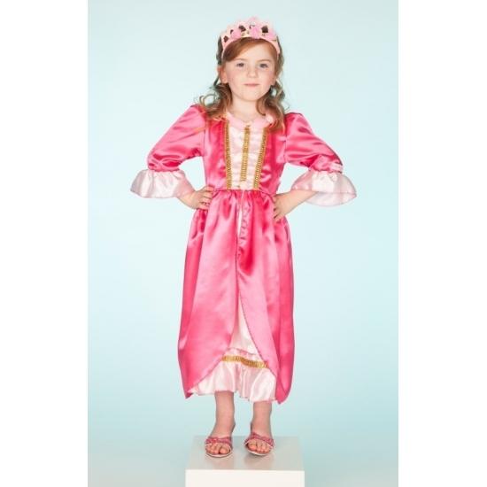 Prinsessenjurk roze voor meisjes