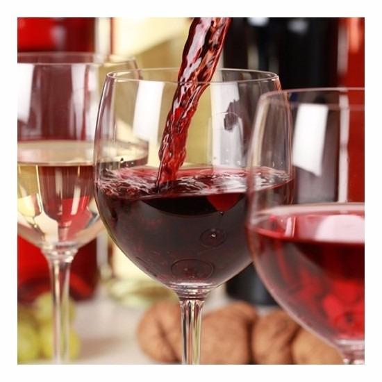 Thema servetten rode wijn 33 cm