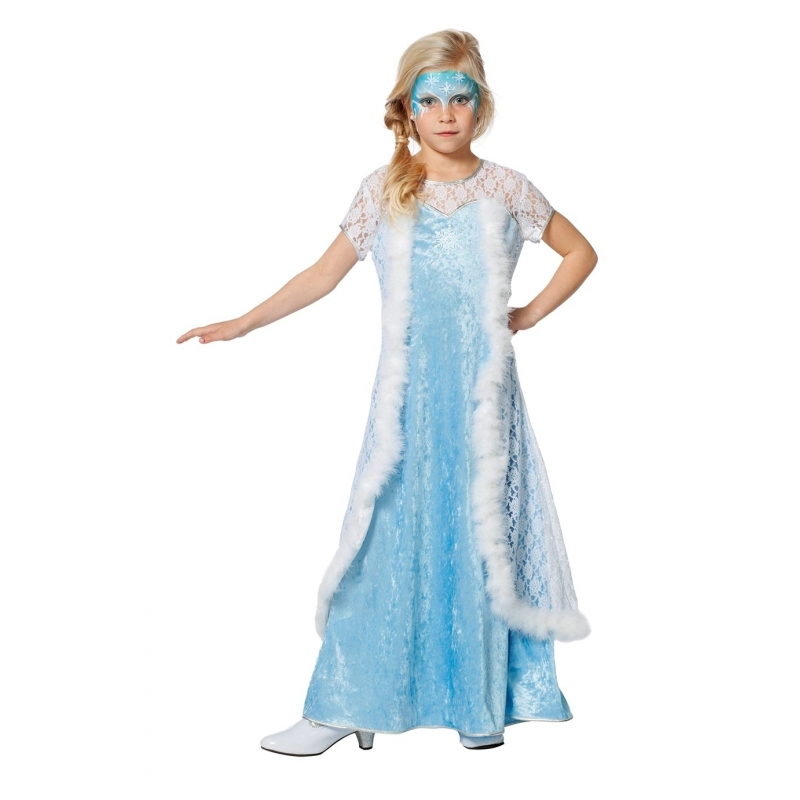Verkleed prinsessenjurk voor meisjes