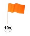 Holland zwaaivlaggetjes papier 10 x