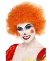 Clownspruik oranje
