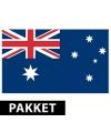 Australische feestartikelen pakket
